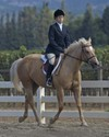 Catherine rode Sugar to Reserve Champion honors in the Beginner Division.