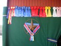 Though impressive, the number of ribbons won is far less than the number of beers consumed. As usual.