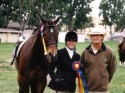 Chris and Driver winning the AA Hunters at Golden State